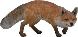 Fox Prowling, 26 and 5 Inch x 13 and 5 Inch x 12 and 5 Inch